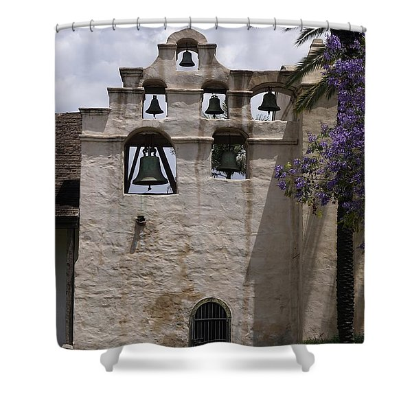 Mission San Gabriel 1771 Shower Curtain