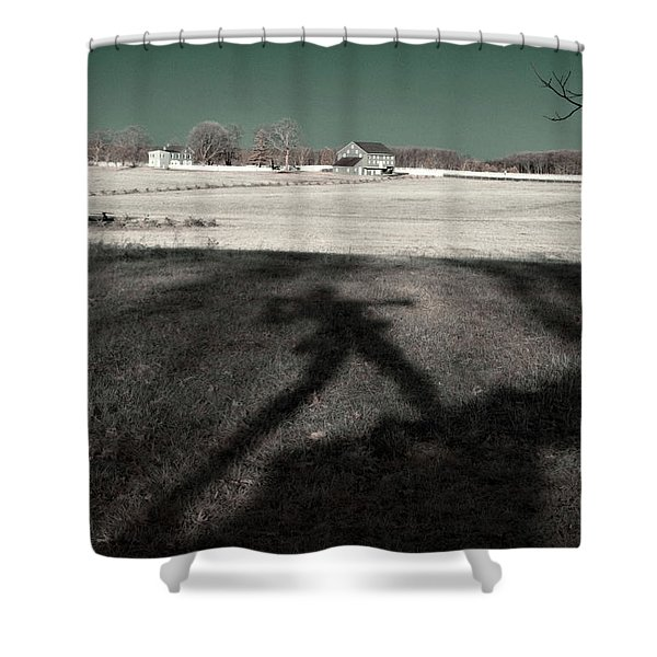 Mississippi Shadow Shower Curtain