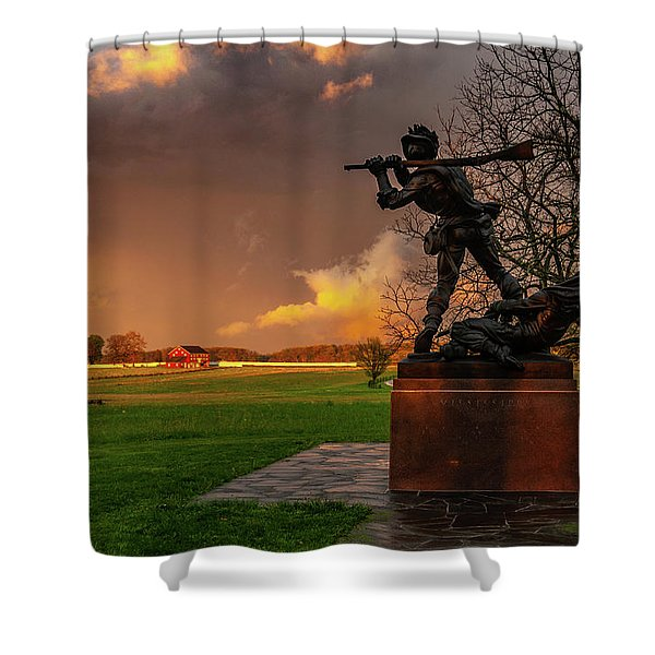 Mississippi Storm Shower Curtain
