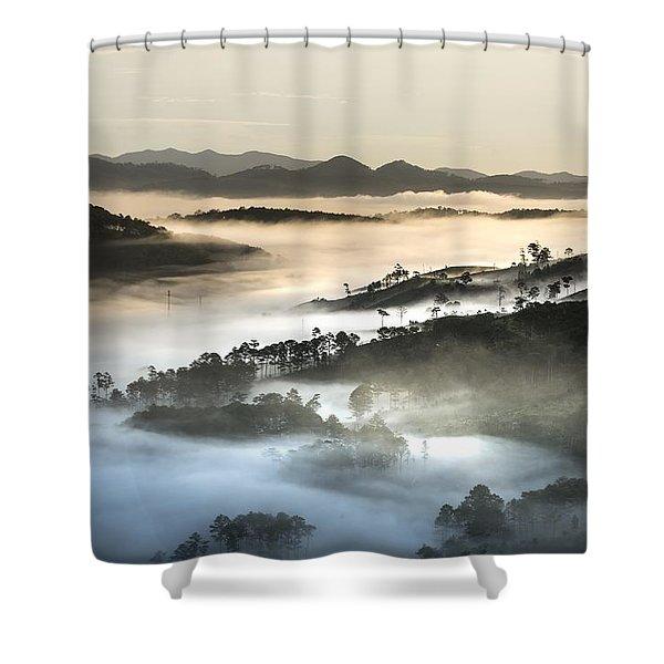 Mist Shower Curtain