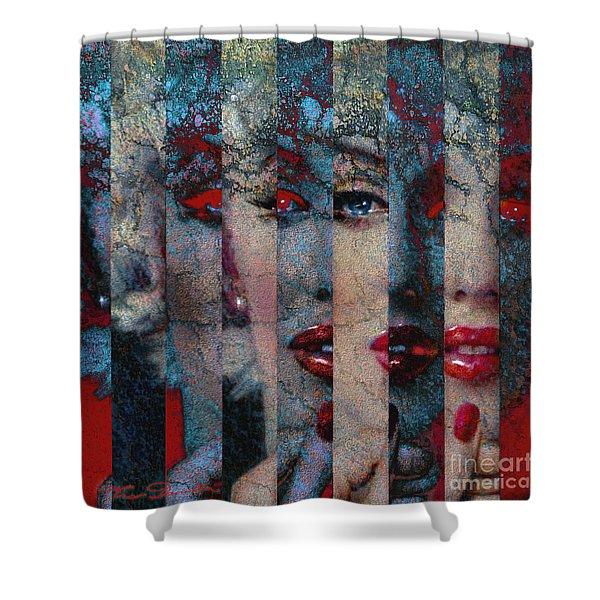 Mmarilyn 132 Q Sis Shower Curtain