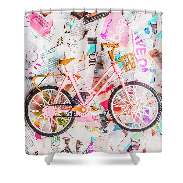 Mode Of Transport Shower Curtain