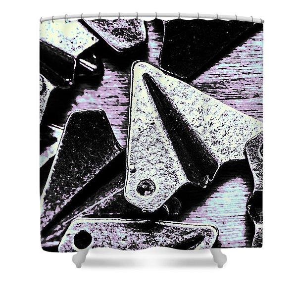 Modelled In Aerodynamics Shower Curtain
