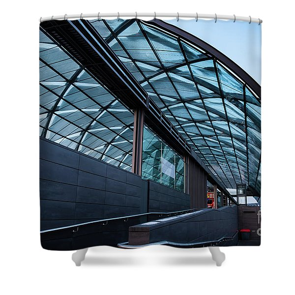 Modern Architecture Shell Shower Curtain