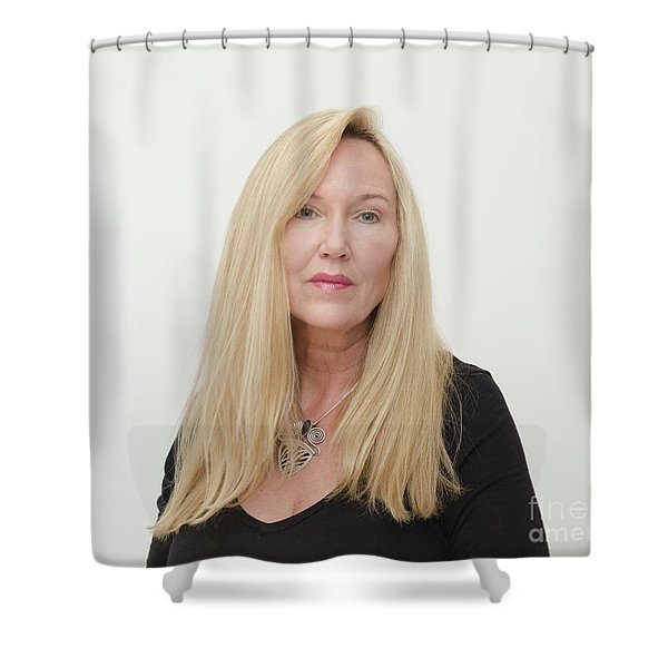 Molly Devoss Shower Curtain
