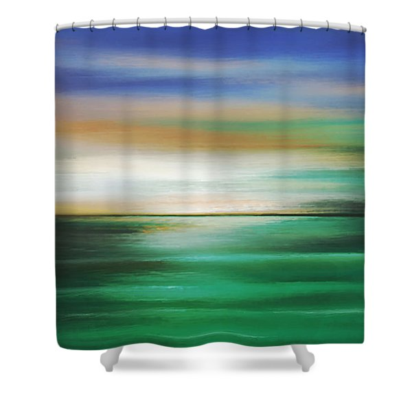 Moment Of Tangency Shower Curtain