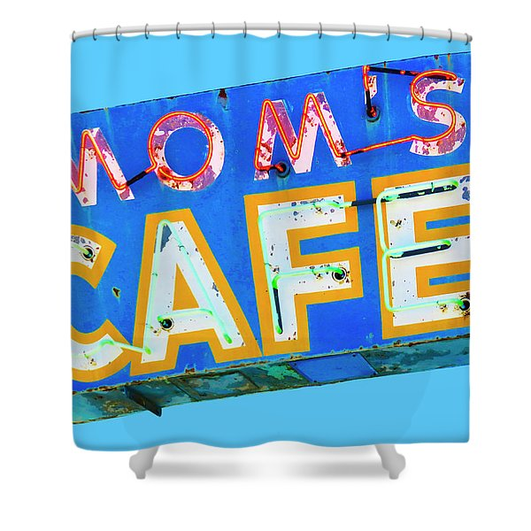 Mom's Cafe Shower Curtain