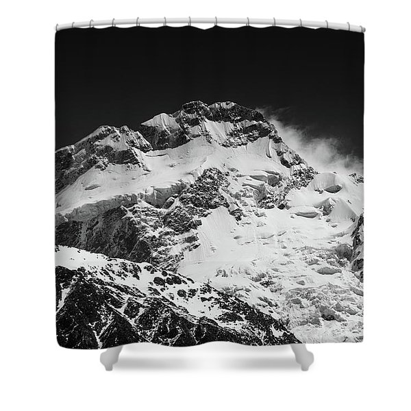 Monochrome Mount Sefton Shower Curtain