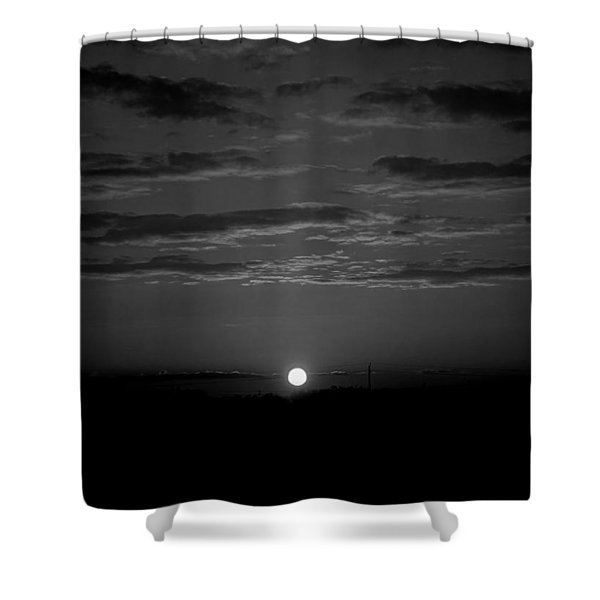 Shower Curtain featuring the photograph Monochrome Sunrise by Bee-Bee Deigner