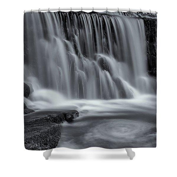 Monsal Dale Weir Shower Curtain