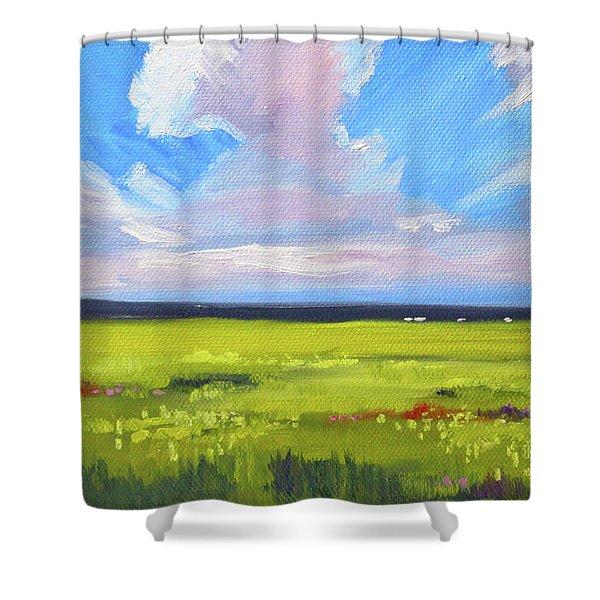 Montana Prairie Shower Curtain