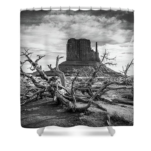Monument Valley I Shower Curtain