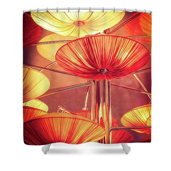 Mood Indigo Shower Curtain