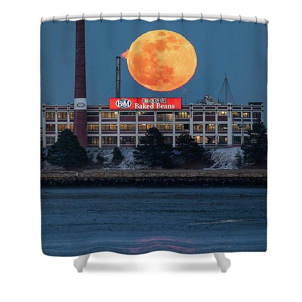 Moon Beans Shower Curtain