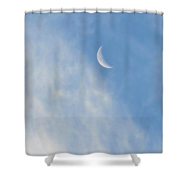 Moon In Libra - Crescent Farewell Shower Curtain