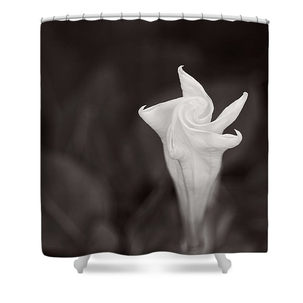 Moonflower Shower Curtain