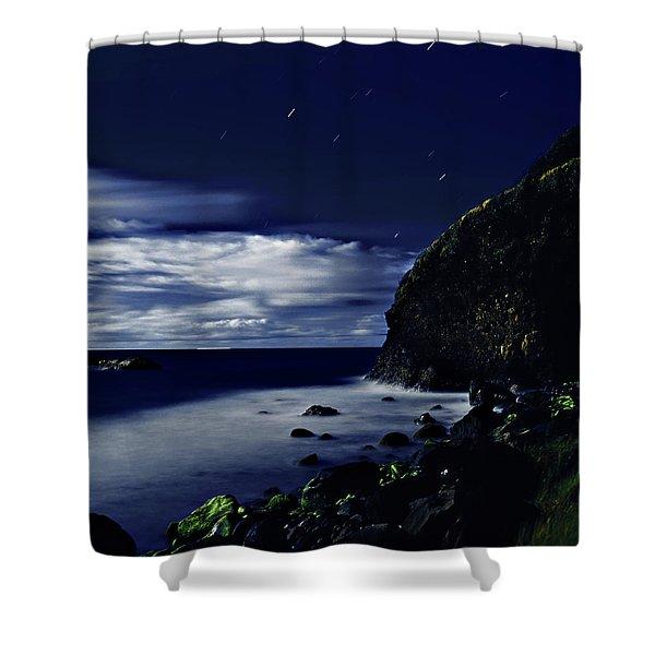 Moonlight At Argyle Shower Curtain