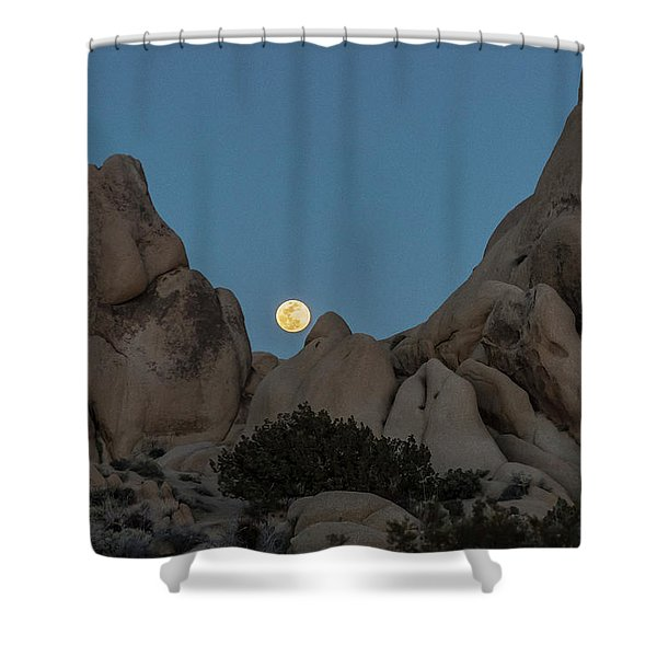 Moonrise In The Sight Shower Curtain