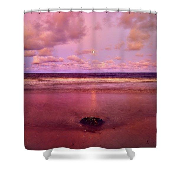Moonrise, Mayaro Shower Curtain