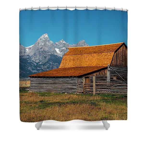 Mormons Barn 3779 Shower Curtain