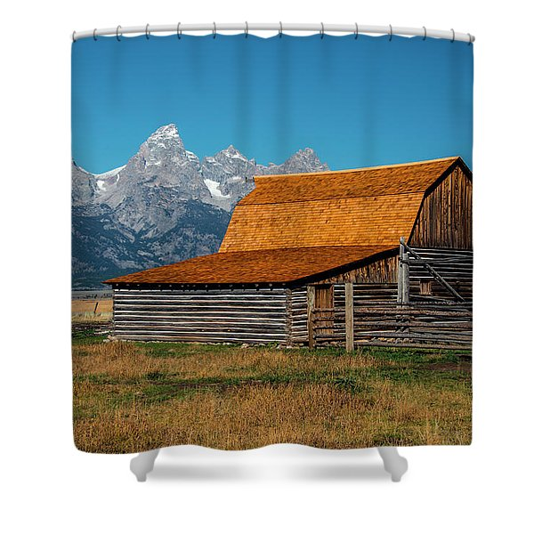 Mormons Barn 3779 Shower Curtain