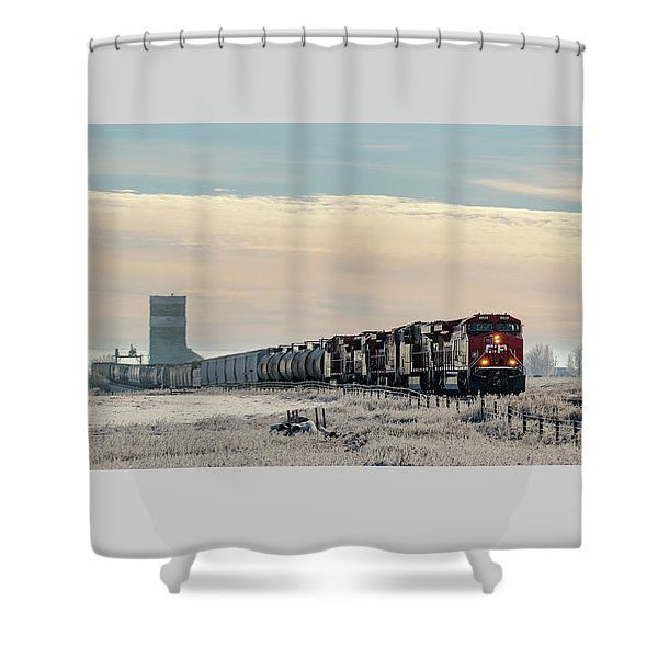 Morning Run Shower Curtain