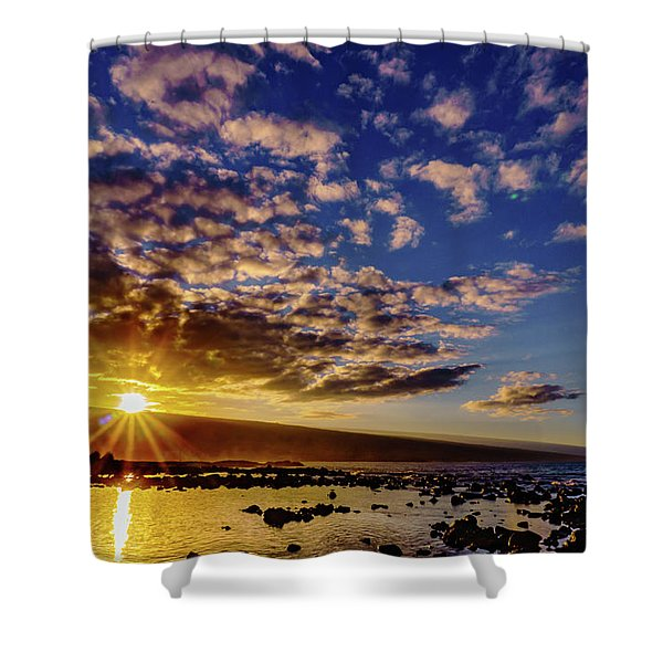 Morning Sunrise Shower Curtain