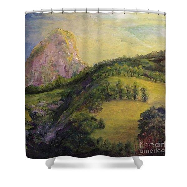 Moro Rock, Kings Canyon Shower Curtain