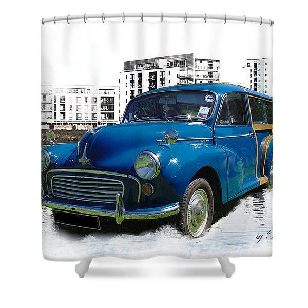 Morris Super Minor Shower Curtain