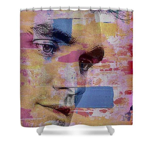 Morrissey Around Town Shower Curtain