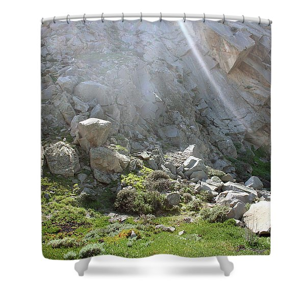 Morro Rock Cluster Shower Curtain