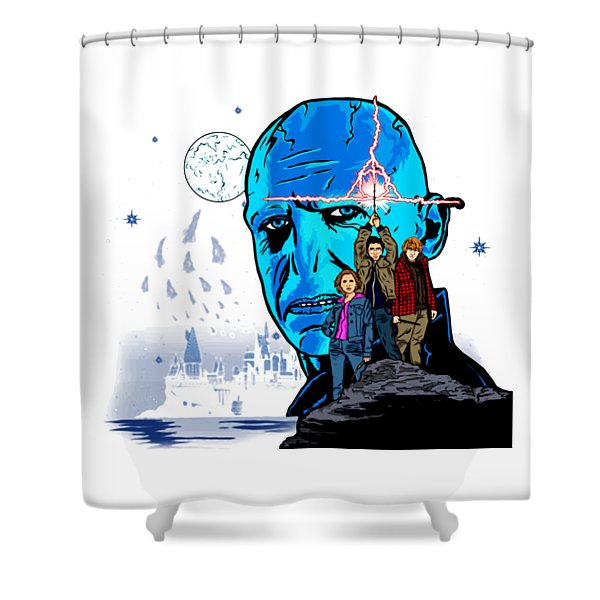 Mort Shower Curtain