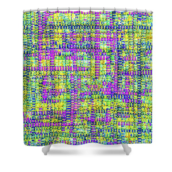 Mosaic Tapestry 2 Shower Curtain