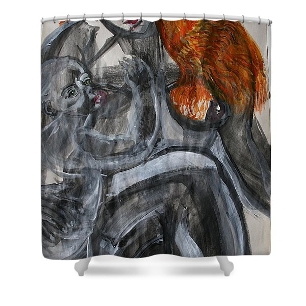 Mother Earth Feeds The World Shower Curtain