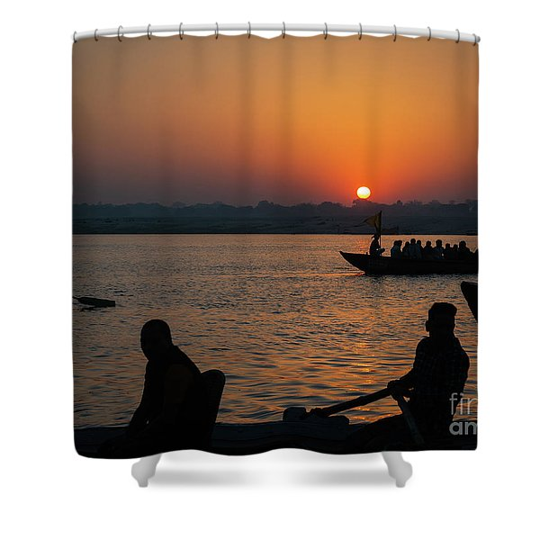Mother Ganges Shower Curtain