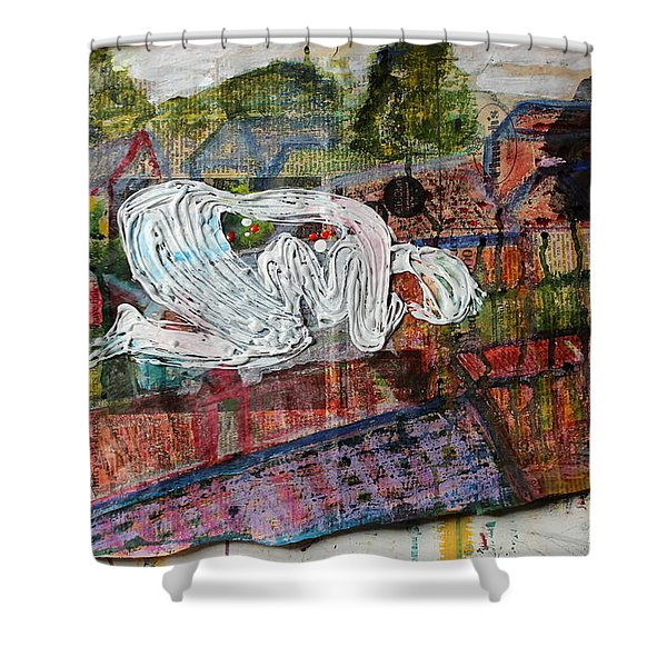 Mother Money Hibernates To The Detriment Of Us All Shower Curtain