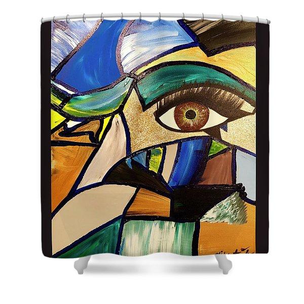 Motley Eye 5 Shower Curtain