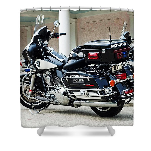 Motorcycle Cruiser Shower Curtain