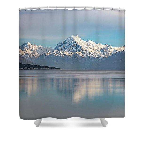 Mount Cook - New Zealand Shower Curtain
