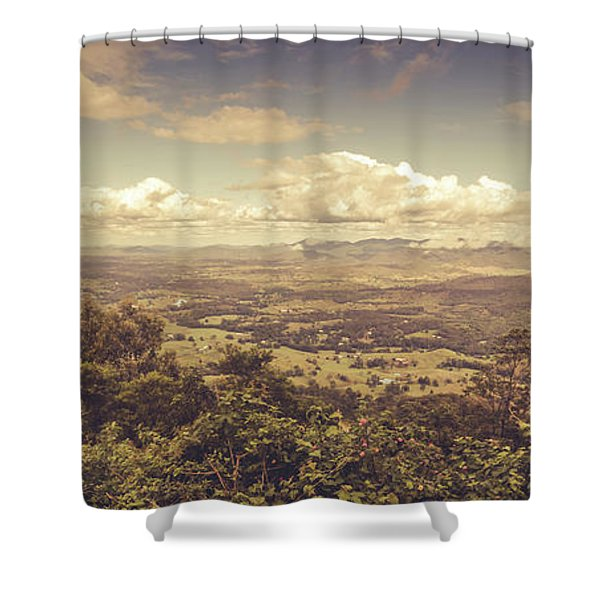 Mount Mee Shower Curtain