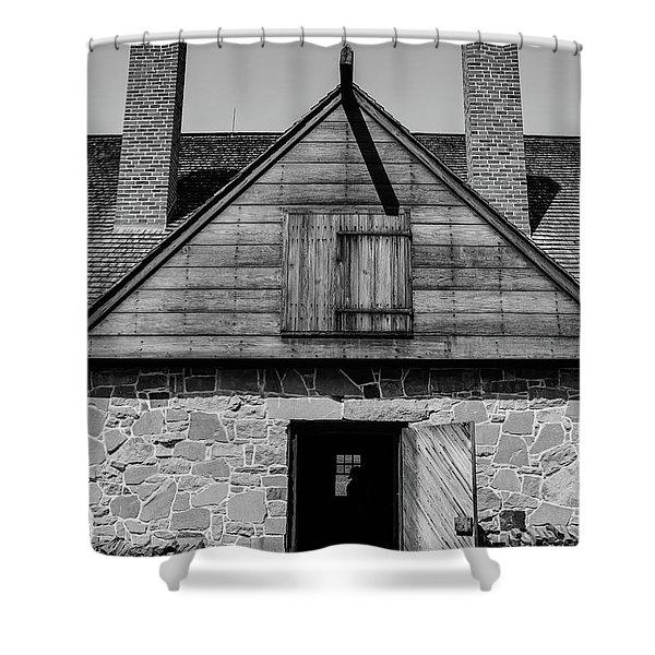 Mount Veron Whiskey Distillery Shower Curtain