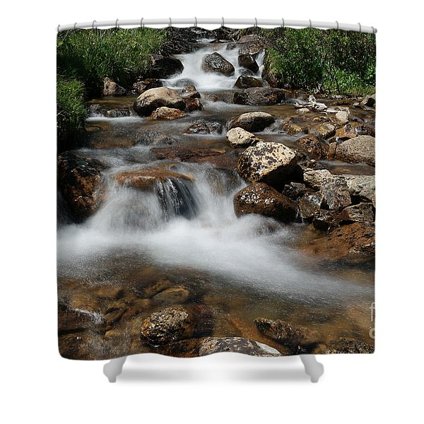 Mountain Fed Stream Shower Curtain