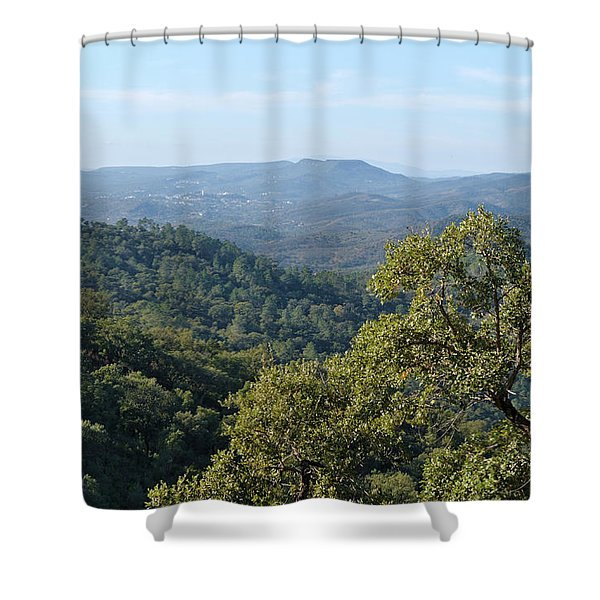 Mountains Of Loule. Serra Do Caldeirao Shower Curtain