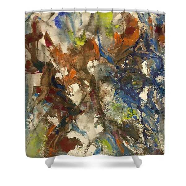 Moving Stage Shower Curtain