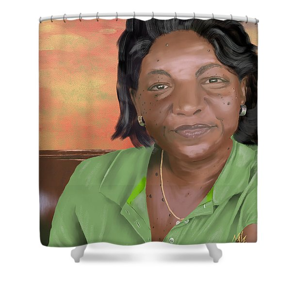 Mrs. Clements Shower Curtain