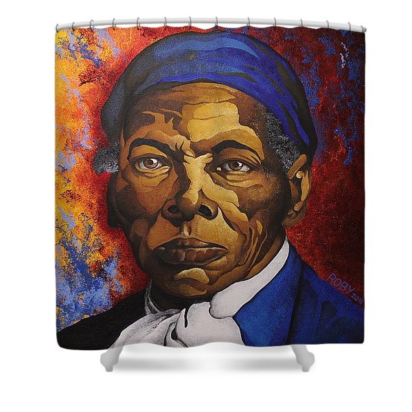 Ms. Tubman Shower Curtain