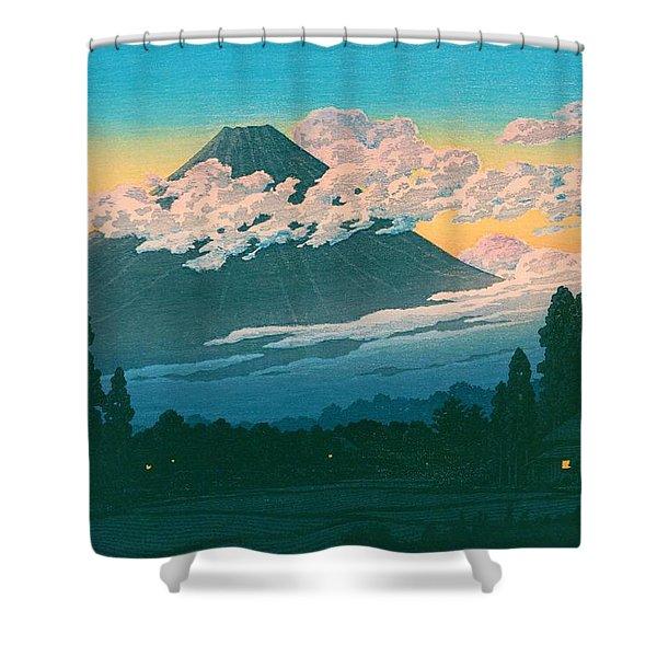 Mt. Fuji Susono - Top Quality Image Edition Shower Curtain