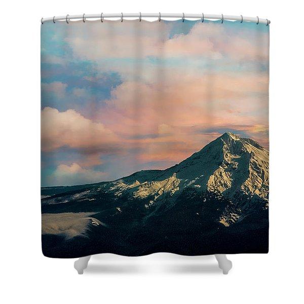 Mt Hood Shower Curtain