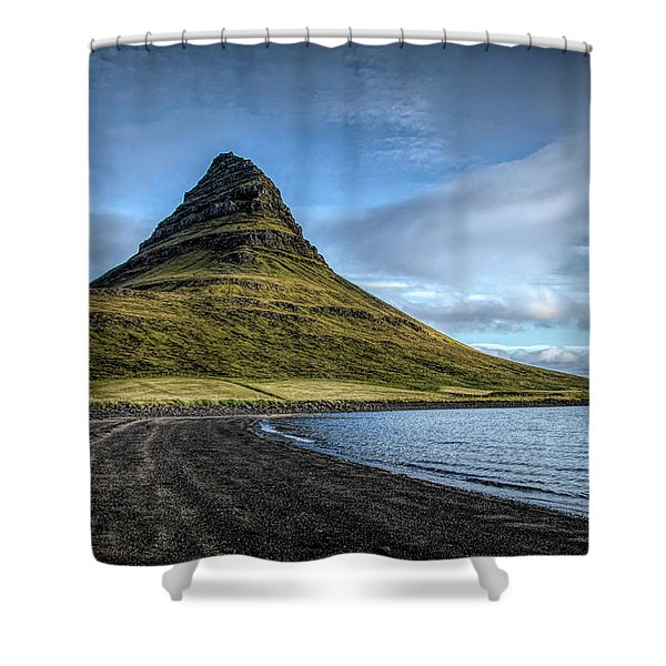 Mt Kirkjufell Shower Curtain