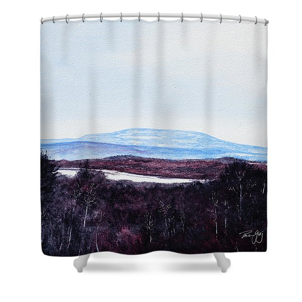 Mt. Wachusett Shower Curtain